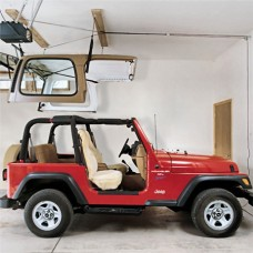Harken Hoister Jeep Wrangler Top Lift System, 45-145 pounds, 10' Lift