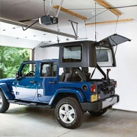 Harken Hoister Jeep Wrangler Unlimited Top Lift System, 75-200 pounds, 12' Lift