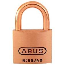 Abus Locks, Padlock Key #5401 Brass 1-1/2I, 55856