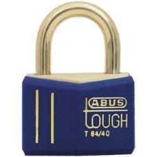 Abus Locks, Solid Brass Padlock w/Cover, 85611