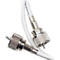 Ancor, RG58CU Coax Jumper w/2 PL259 Connectors, 3', 189800