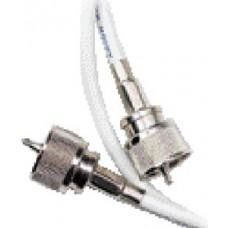 Ancor, RG58CU Coax Jumper w/2 PL259 Connectors, 3', 189800