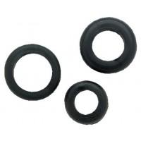 Ancor, 1/2 Black Grommets (5), 760500
