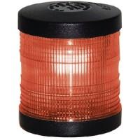 Aqua Signal, Light A/R Ped Red Lens Black, 250047