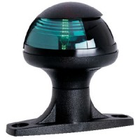 Attwood, Pulsar Sidelight w/Raised Base, Green, 5080G7