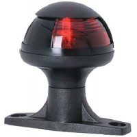 Attwood, Pulsar Sidelight w/Raised Base, Red, 5080R7