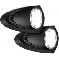 Attwood, Black LED Docking Lights, 6523BK7