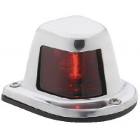 Attwood, Side Light Horizontal SS Red, 66319R7