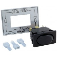 Attwood, 3-Way Bilge Pump Switch, 7615A3