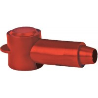 Blue Sea, Cable Cap Stud Red 1.25X.700, 4014