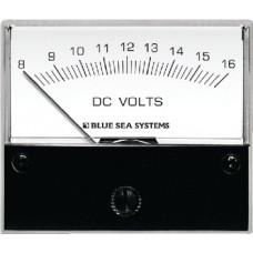 Blue Sea, Voltmeter Analog 8-16 VAC, 8003