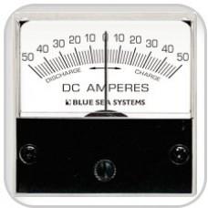 Blue Sea, Ammeter & Shunt Comb. 0-50 Amp, 8022