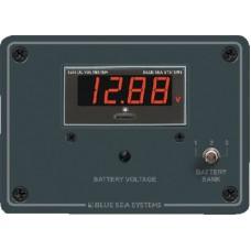 Blue Sea, DC Digital Voltmeter Panel, 8051