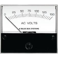 Blue Sea, Volt Meter Analog 0-150 Vac, 9353