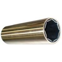 Morse Rubber LLC, 1 X 1 1/4 X 4 Brass Bearing, BLACKFISH