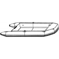 Carver, 10' Blunt Nose Inflatable Boat Cover, Poly Guard, 7INF10BP