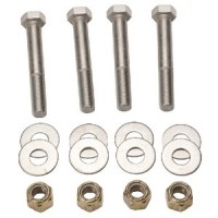 Detwiler, Jack Plate Mounting Bolt Kit, 6-1/2