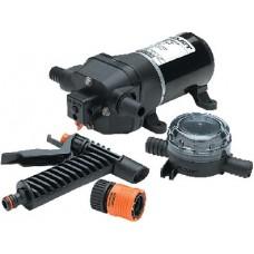 Flojet, Quad Series Water Jet Washdown Pump Kit w/Strainer & Nole, 04305144L