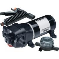 Flojet, Heavy Duty Quad Series Water Jet Water System Pump w/Strainer & Nole, 04325143L