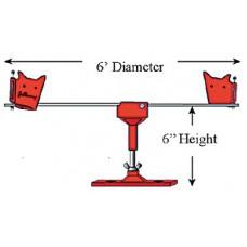 Gullsweep, 6' Gullsweep System w/Deck Mount, GS1