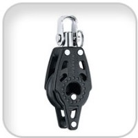 Harken, 29mm Single Swivel Carbo Block w/Becket, 341