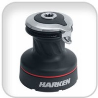 Harken, Radial 2 Speed Aluminum Self-Tailing Winch, 35.2STA