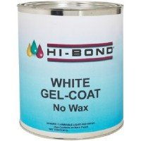 Hi Bond, White Gel Coat No Wax Qt W/Hdr, 701440