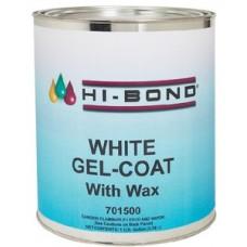 Hi Bond, White Gel Coat With Wax Qt, 701490