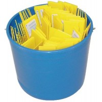 Hyde Tools, Pail Of Plastic Putty Knives, S49713