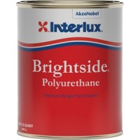 Interlux, Brightside Polyurethane, Black, 1/2 Pt., 4258HP