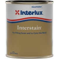 Interlux, Interstain Wood Filler, Brown Mahogany, Pt., 42P