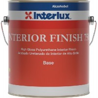 Interlux, Interior Finish 750 Topside Paint, 9003 White Base Gal., YIC750G