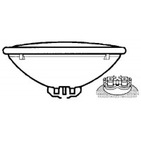Jabsco, Replacement Searchlight Bulb, 67262-0000