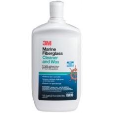 3M Marine, Liquid Fiberglass Cleaner and Wax, 16 oz., 09009