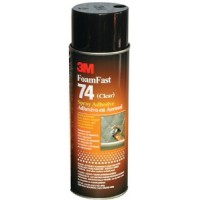 3M Marine, Super 74 Orange Foam Fast Adhesive, 82242