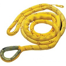 New England Ropes Inc, Braided Nylon/Polyester Mooring Pendant 3/4