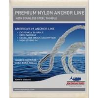 New England Ropes Inc, Anchorline 1/2 X 150 Nylon, 60601600150
