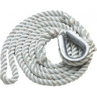 New England Ropes Inc, 3-Strand Mooring Pendant 3/4