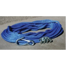 Panther, Anchor Rope 50' W/Cleat & Hook, 757000