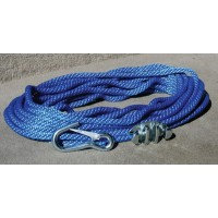 Panther, Anchor Rope 100'W/Cleat & Hook, 757010
