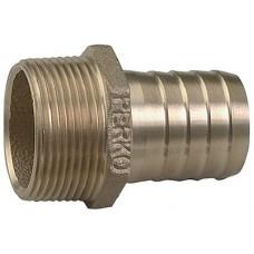 Perko, 1/2 Pipe To Hose Adapter, 0076DP4PLB