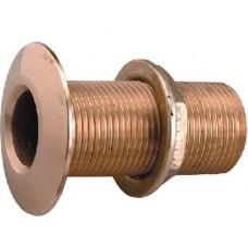 Perko, 2 Bronze Thru Hull W/Nut, 0322009PLB