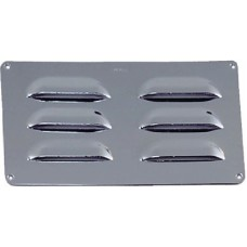Perko, Louvered Vent 8 X3 Chrome Plated Br, 0335009DP