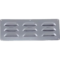 Perko, Louvered Vent 11 X3 1/2 Chrome Plated B, 033509ADP
