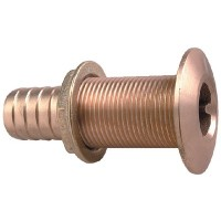 Perko, Thruhull Connector 1-1/8 Bronze, 035006ADPP