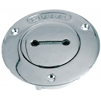 Perko, 1-1/2 Diesel Pipe Deck Plate, 0528DPDCHR