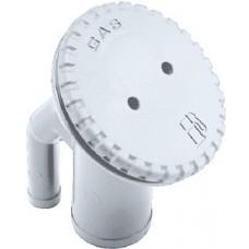 Perko, Combo Gas Fill & Tank Vent-Wh, 0542DPGWHT