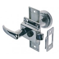 Perko, Rim Latch St W/Flush Strke, 0930DP0CHR