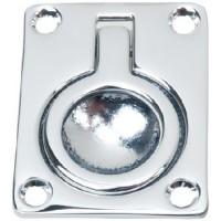 Perko, 2-9/16 X2 Flush Ring Pull, 1103DP0CHR