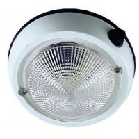 Perko, 4 Exterior Dome Light Wht, 1253DP1WHT